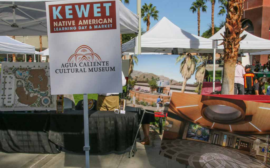 Agua Caliente Band-Displays of coming cultural center