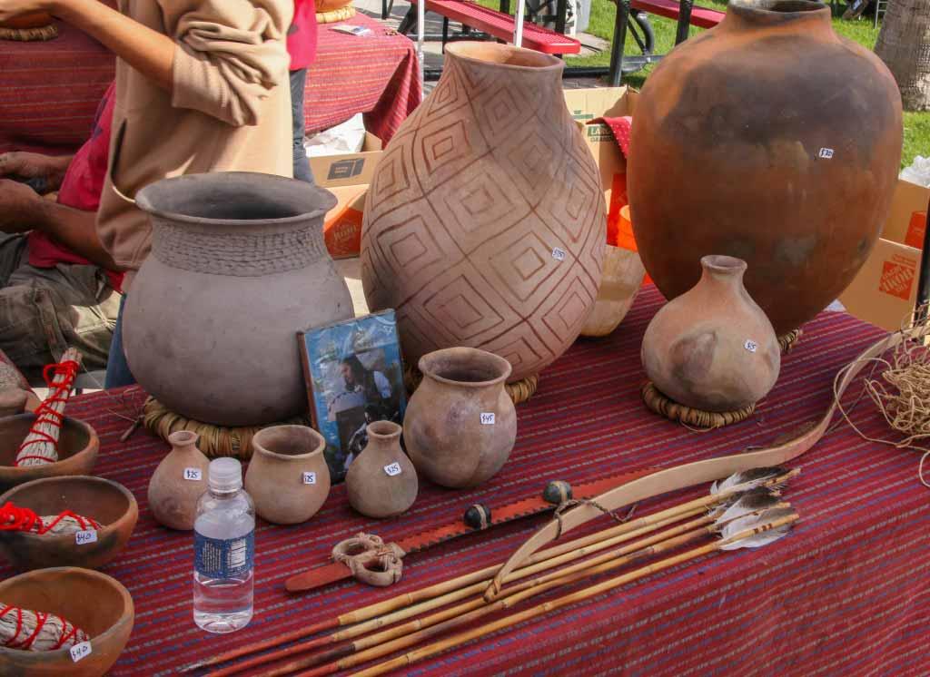 Agua Caliente Band-Typical Agua Caliente crafts