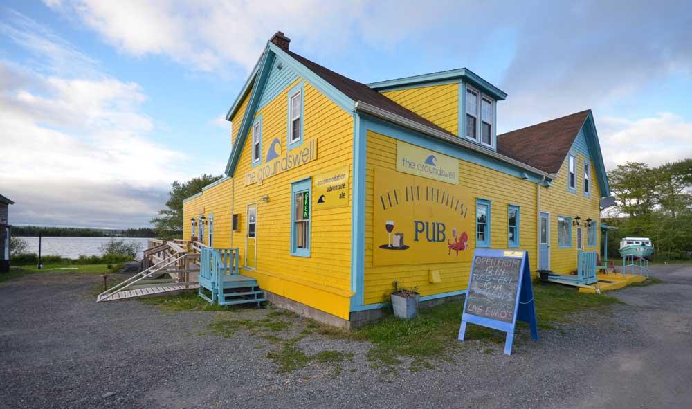 Groundswell Pub Isle Madame Cape Breton NS