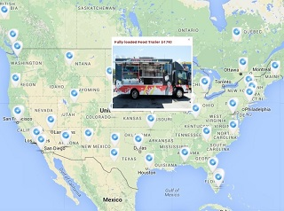 Used Food Truck Sales from Roadstoves