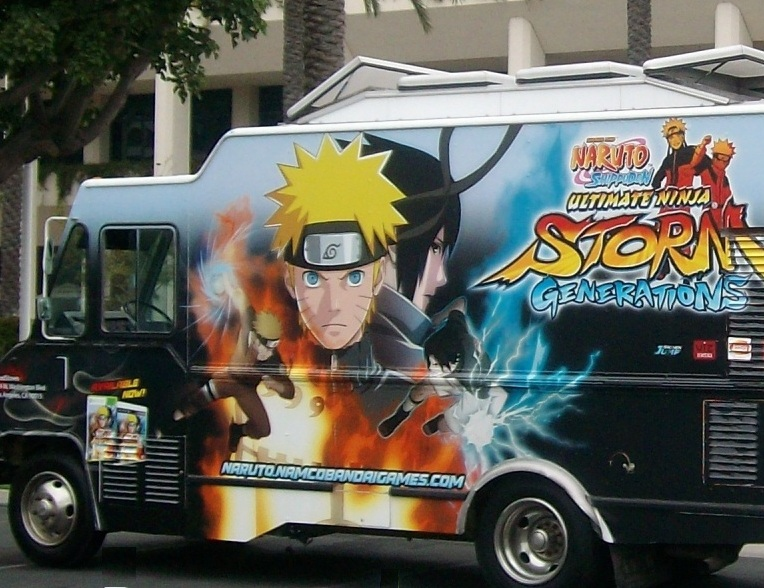 """NAMCO'S """"STORM"""" food truck"""