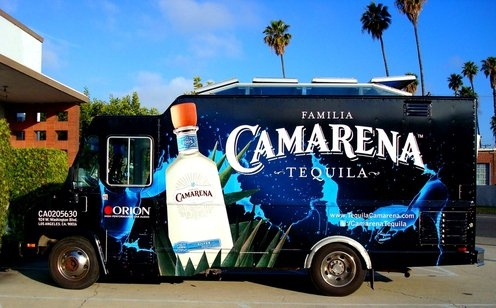 Gallo Wines Camarena Tequila Food Truck