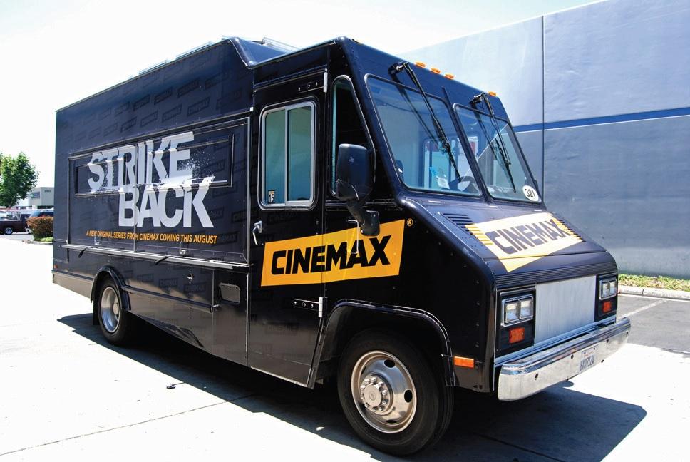 "Cinemax's ""Strike Back"" Food Truck"