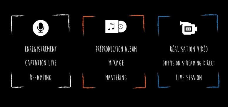 Enregistrement et production d'album, studio d'enregistrement pas cher lille