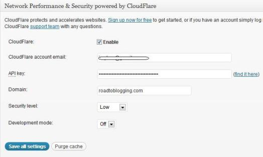 W3 Total Cache for Cloudflare