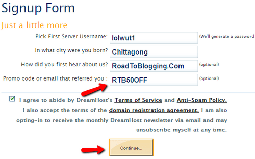 How To Use DreamHost Coupon Codes