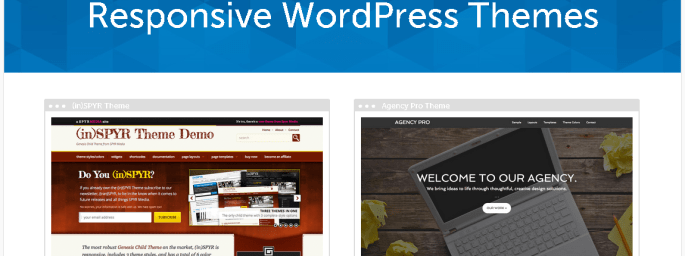 StudioPress Responsive WordPress Theme