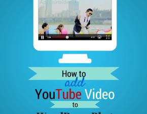 add youtube video to wordpress blog