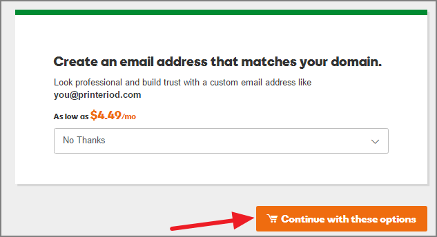 how to buy domain name from godaddy