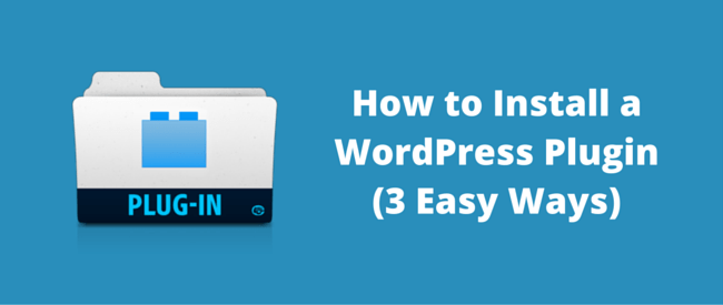 Install a WordPress Plugin