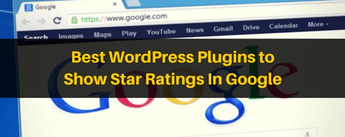 WordPress Plugins to Show Star Ratings in Google