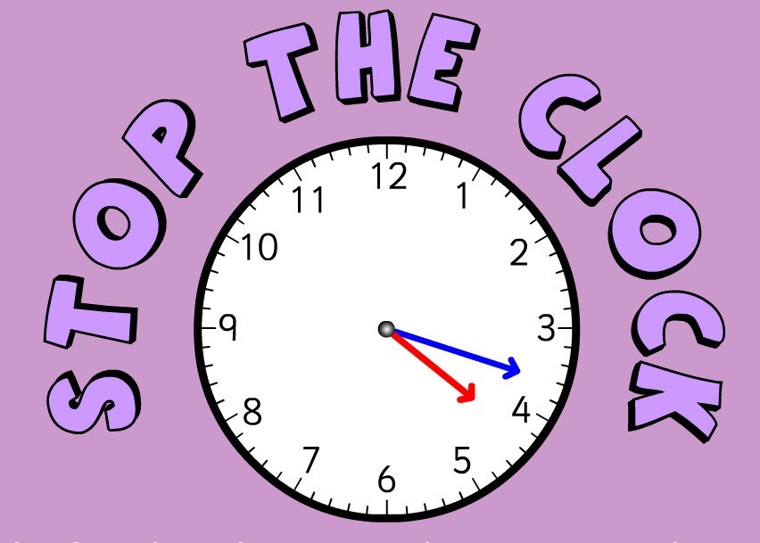 IMAGE STOP THE CLOCK