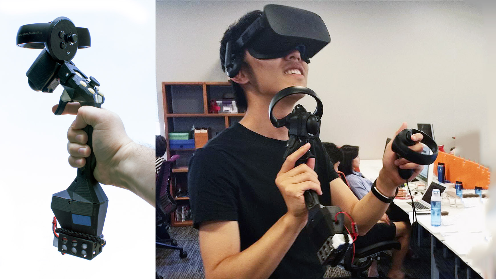 Tactical Haptics Adapts Prototype Haptic Controller for Oculus Touch – Road to VR