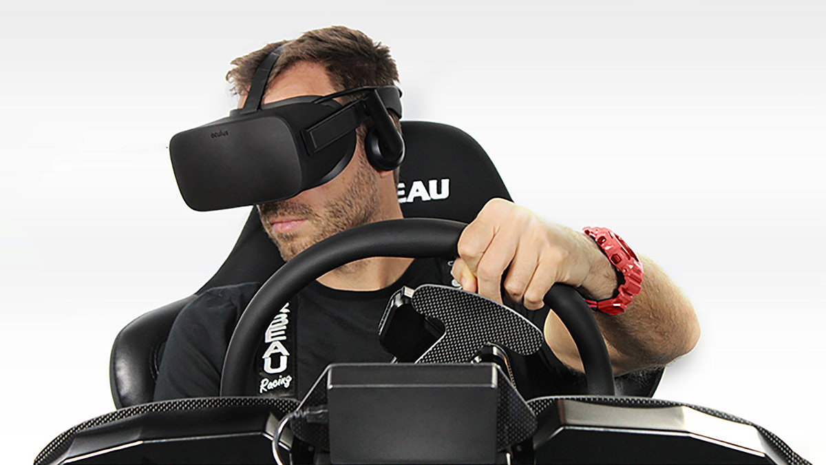 hydraulic racing simulator chair rocking slipcover four kits to get into vr sim on any budget photo courtesy cxc simulations