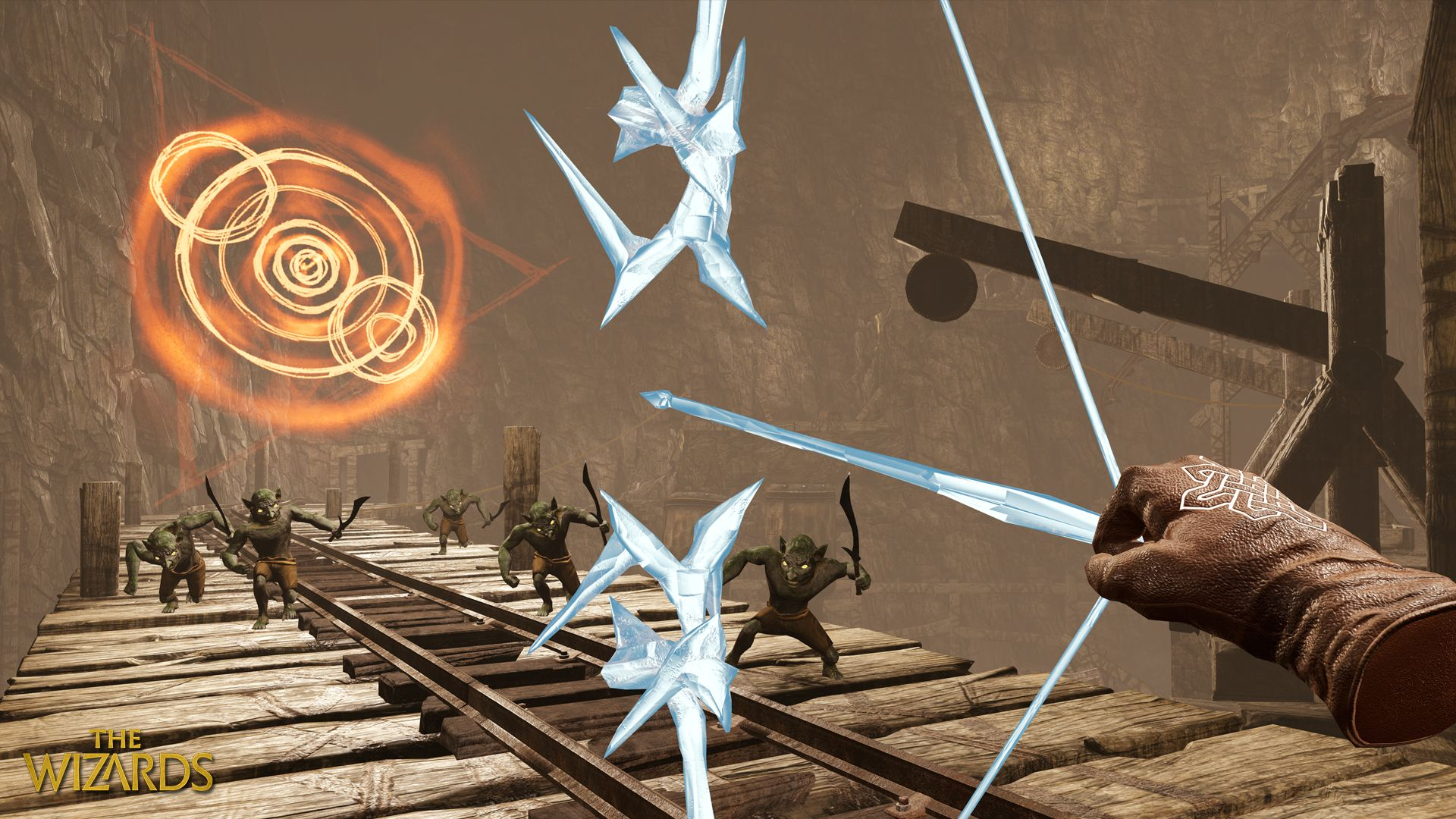 the wizards vr spellcaster