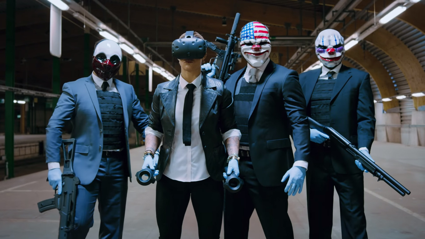 Payday 2 Vr Exits Beta Now Available As Free Dlc To Main Game Road To Vr