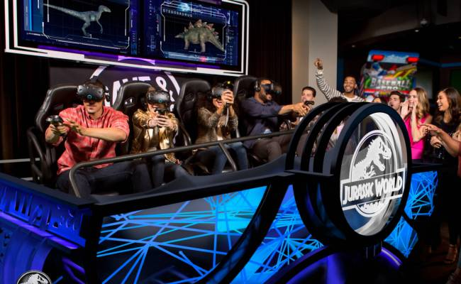 New Jurassic World Vr Game To Debut At Dave Buster S
