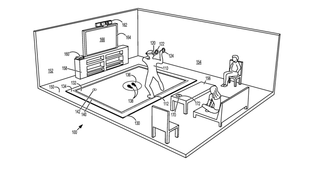 Microsoft Files 'VR Floor Mat' Patent, Possibly Aimed at