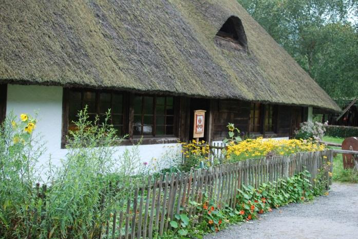 Altes Gebäude Vogtsbauernhof Gutach