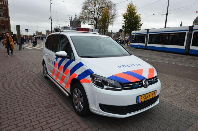 Voiture de police - Amsterdam