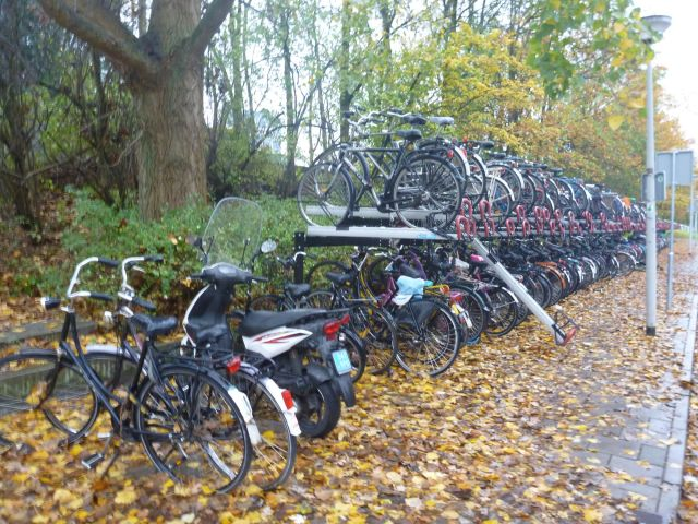 Parking à vélo - Amsterdam