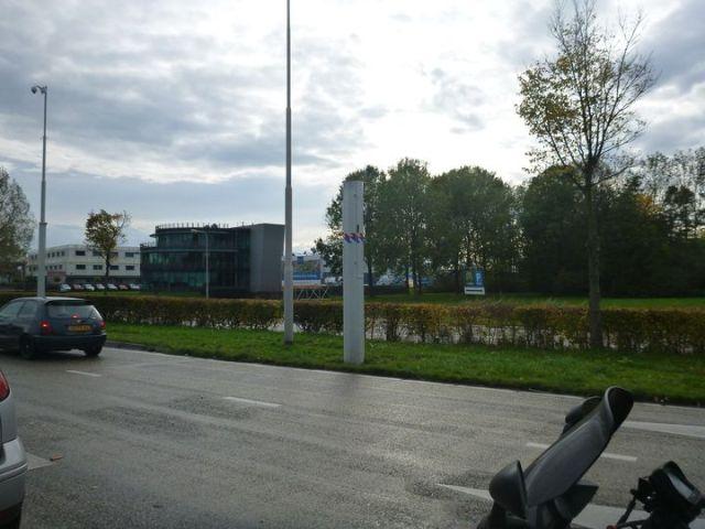 Radar à l'approche de Rotterdam