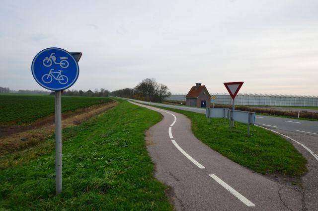 Piste cyclable néerlandaise