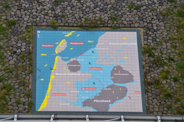 Sur la digue - Afsluitdijk