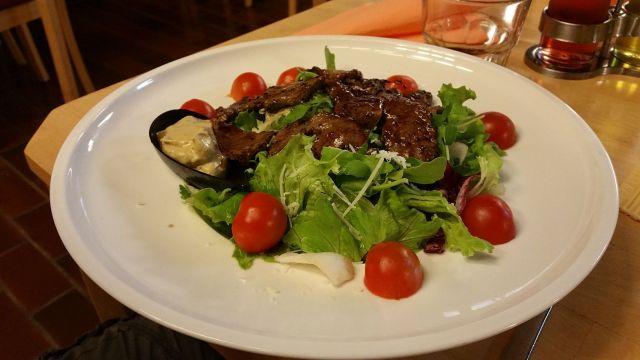 Salade de Fred - Restaurant du camping de Bled