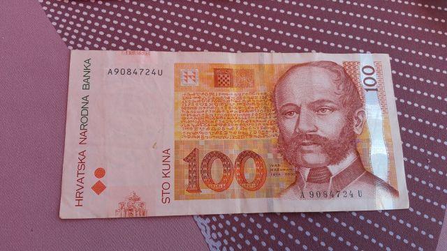 Billet de 100 Kn - Croatie