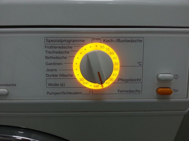 La machine à laver en allemand
