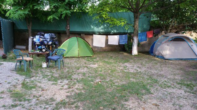 Notre campement - River camp Aganovac