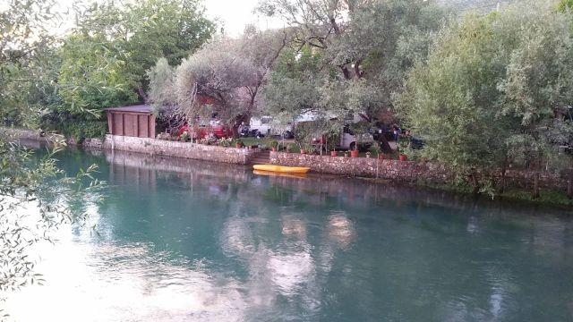 Camping River camp Aganovac