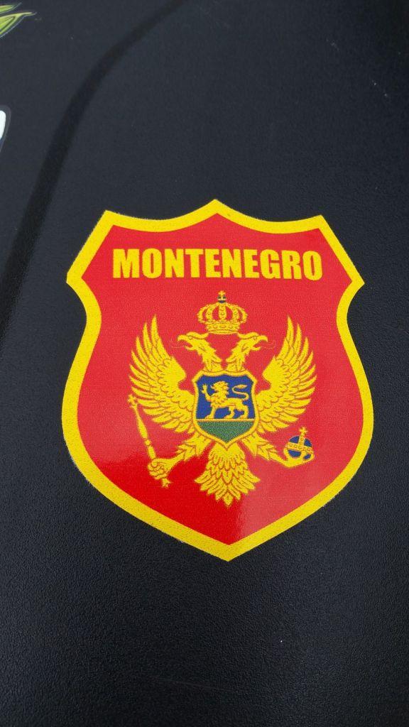 Autocollant du Monténégro