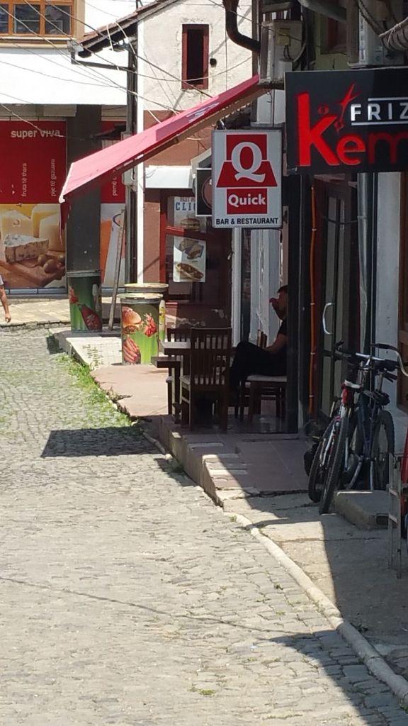 "Restaurant ""Quick"" à Prizren - Kosovo"