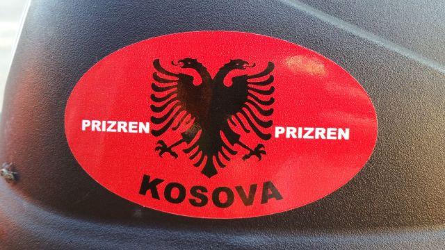 Autocollant du Kosovo