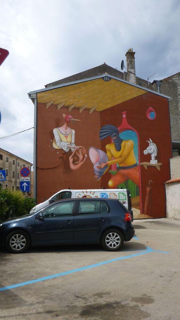 Peintures sur façades - Vodnjan