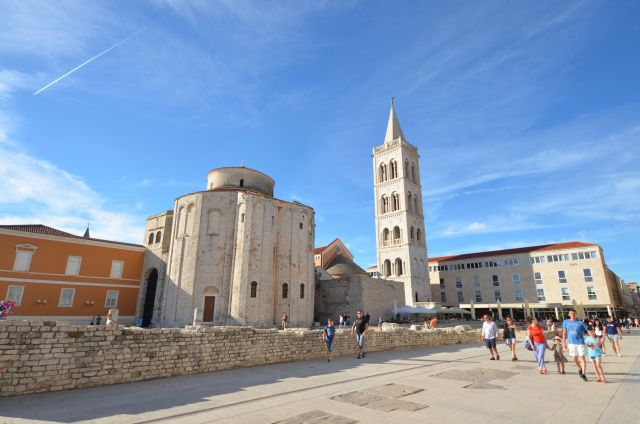 Forum romain et la Cathédrale - Zadar