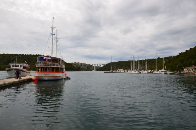Port de Skradin - Croatie