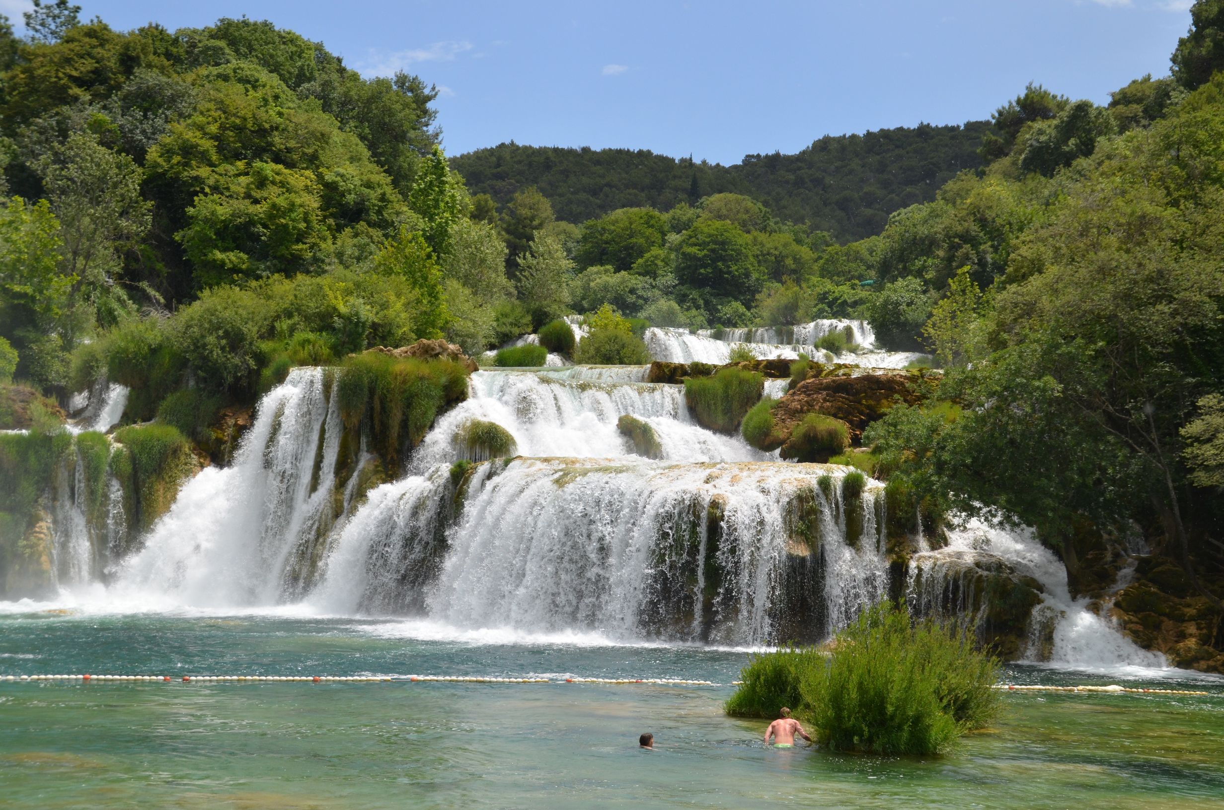 Carte, Tour d'Europe, Skradinski Buk, Parc national de Krka
