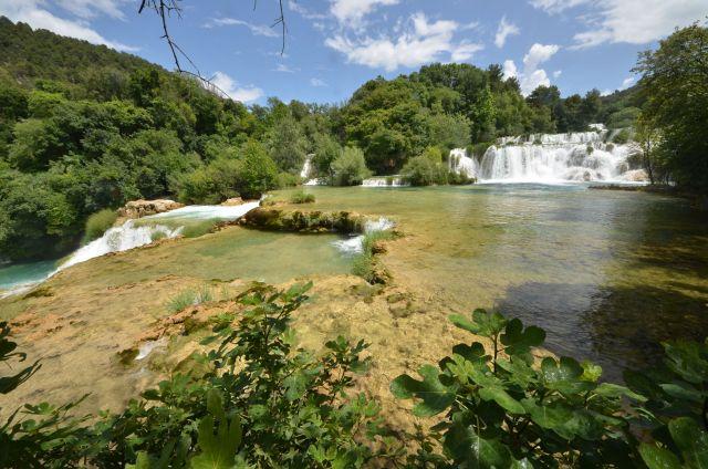 Skradinski Buk - Parc national de Krka - Croatie