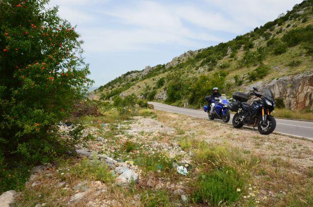 Sur la route - Bosnie