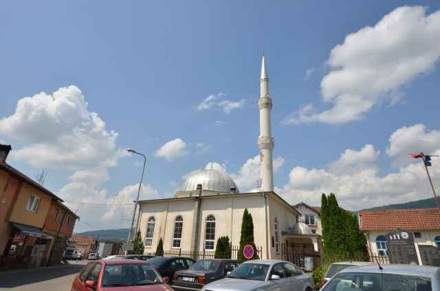 Mosquée en route