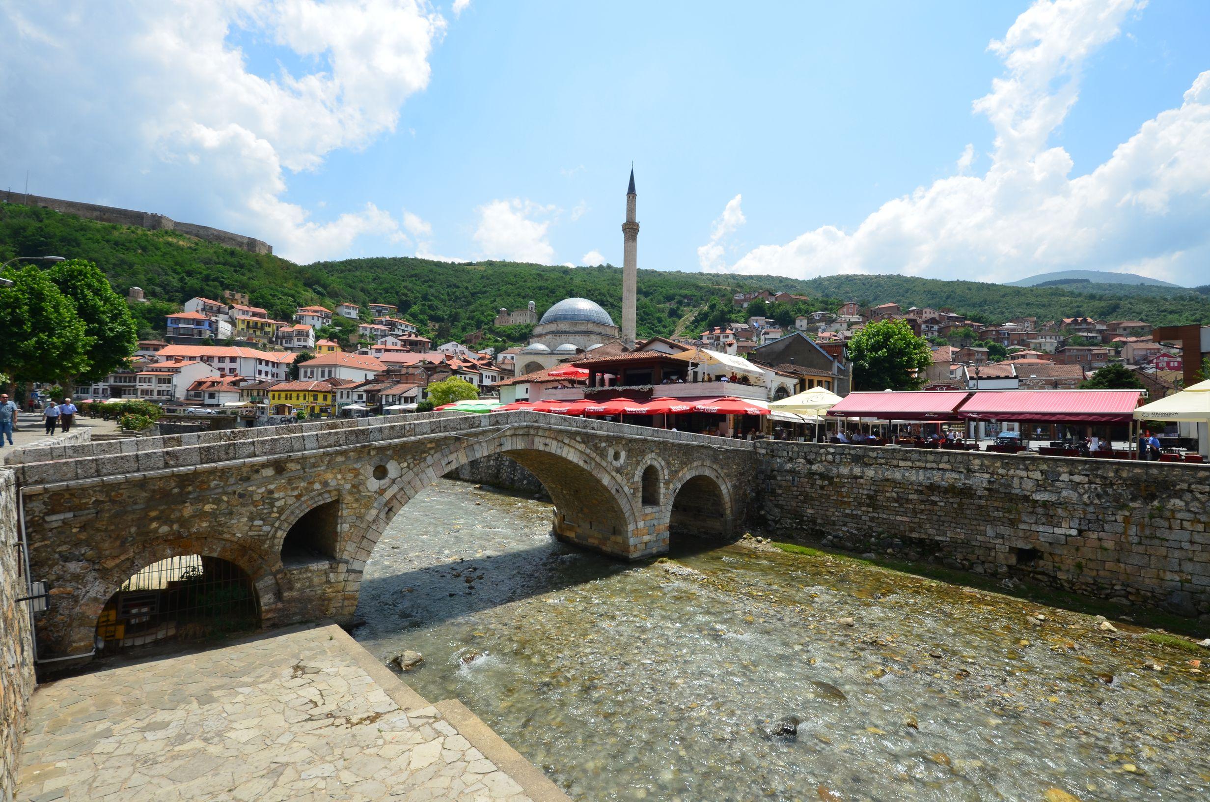 Carte, Tour d'Europe, Prizren, Kosovo