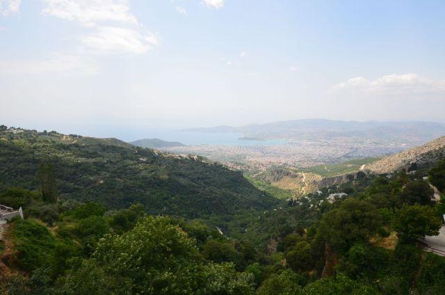 Vue sur Volos depuis Makrinitsa
