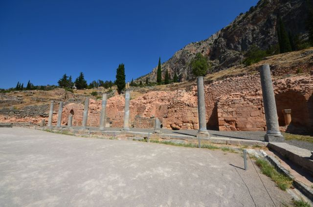 L'Agora romaine - Delphes