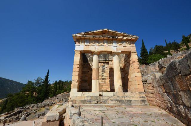 Trésor d'Athènes - Delphes