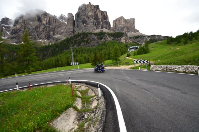 Fred dans les Dolomites - Environs de Cortina d'Ampezzo