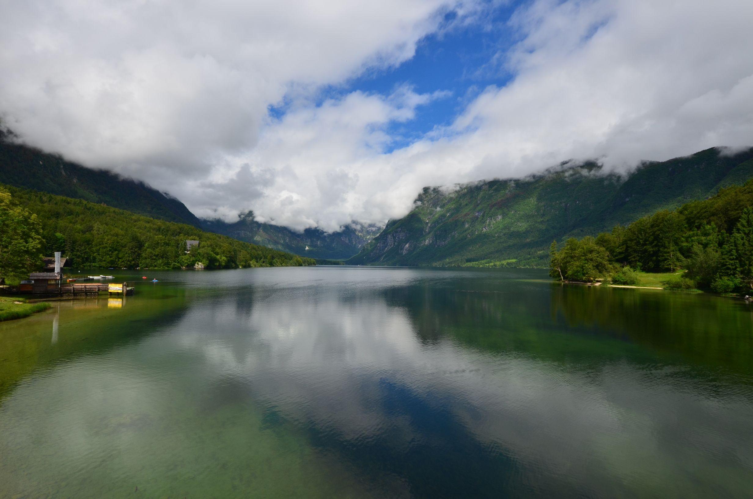 Tour d'Europe, Bohinjsko Jezero, Slovénie