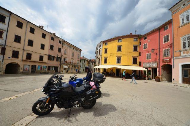 Place à l'italienne de Vodnjan - Croatie